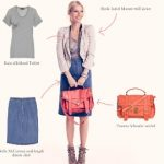 Gwyn's Spring Basics, Foxified: Denim Skirt