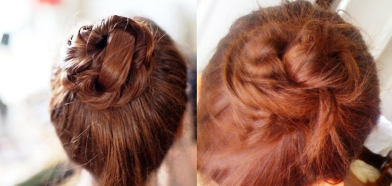 all in knots In knots about this easy alternative to the mega messy bun