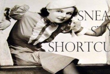 sneaky style shortcuts