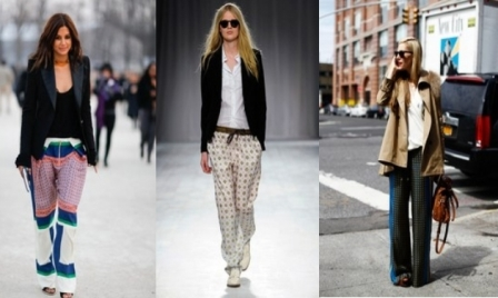 7 ways to wear Pyjama Pants without looking like you've slept-in ...
