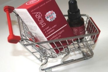 rosehip oil in the trolley