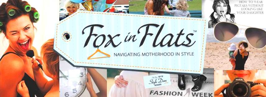 Fox in Flats Andrea Michelle Motherhood Style