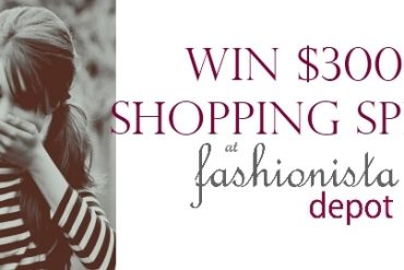 win $300 shopping spree at fashionista depot