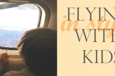 flying in style with kids