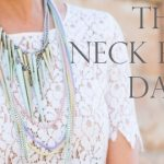 DARE you to throw a party all week…on your NECK!