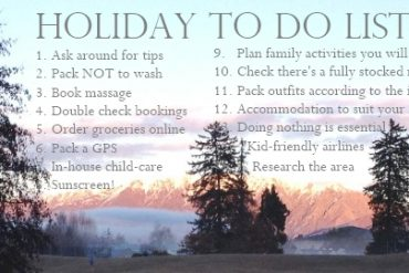 family holiday tips