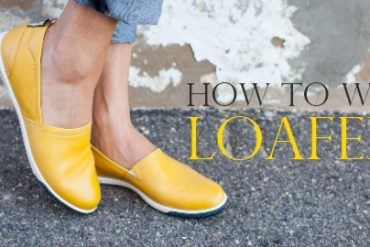 how to wear loafers