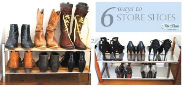ways to store shoes how many shoes do you have