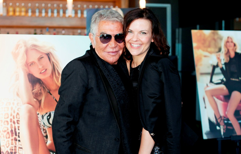 Roberto Cavalli shares his Target range with Andrea Zanetich from Fox in Flats1 Roberto Cavalli on animal prints, confidence, pet monkeys, and his new range for Target