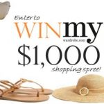 WIN a $1,000 shopping spree at my-wardrobe.com