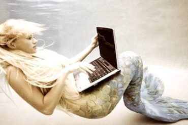 mermaid laptop