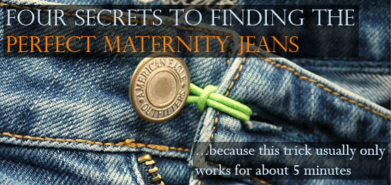 12 of the Best Maternity Jeans Online {PLUS} 4 Secrets To Finding ...
