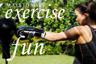 exercise fun boxing fox in flats