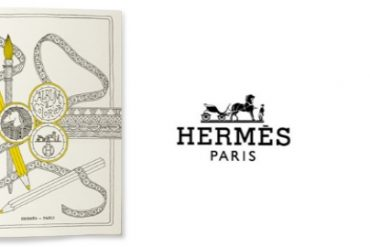 hermes colouring book