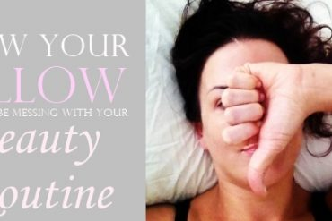 how your pillow could be messing with your beauty routine