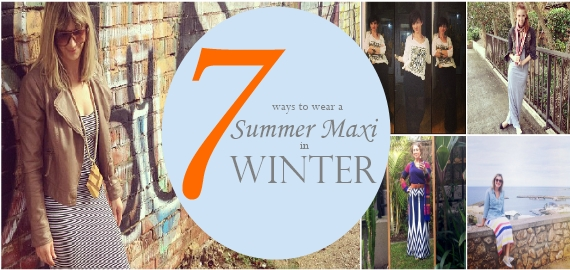 7 ways to wear a summer maxi in winter