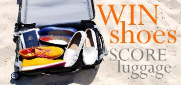 win shoes score luggage