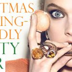 Christmas pudding-friendly party gear