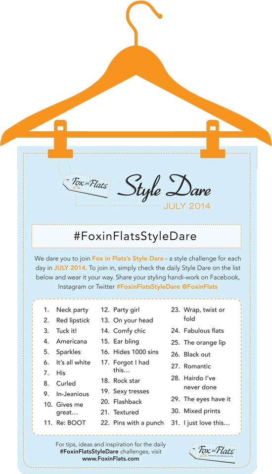Style Dare Fox in Flats July