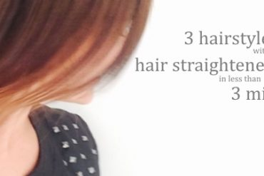hairstyles with hair straightener