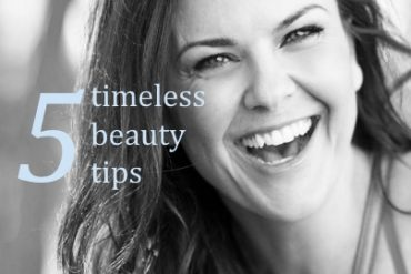 timeless beauty tips